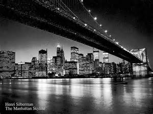 manhattan black and white