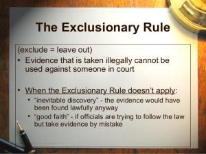 exclusionaryrule