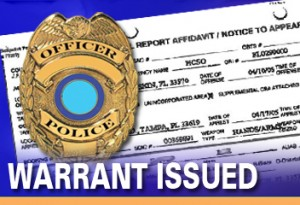 warrat issued